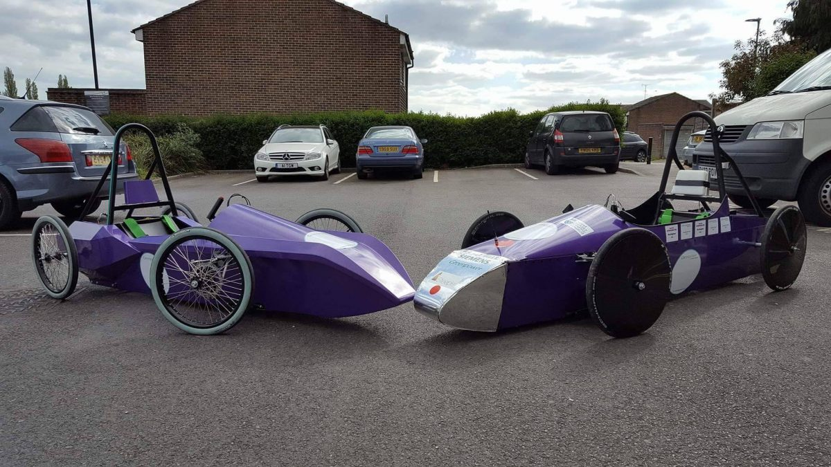 Energys Group works with WSCC Purple Bus team to encourage young people's passion for engineering, design and racing