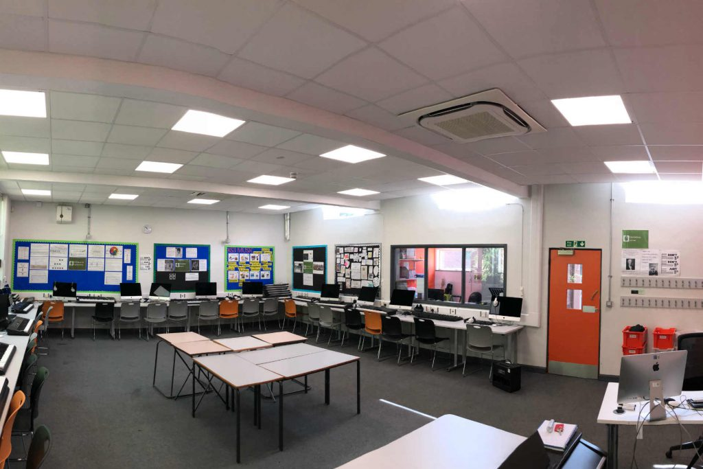 Energys Group LED upgrade at Leytonstone School is set to deliver £8.7K annual savings
