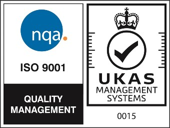 NQA ISO 9001 Logo - UKAS 2021
