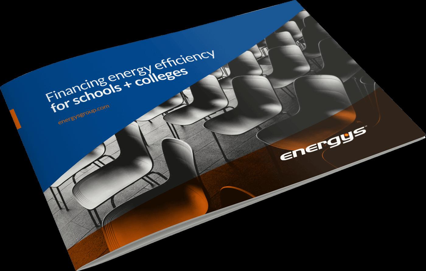 Energys Schools Energy Efficiency Finance Brochure Mockup