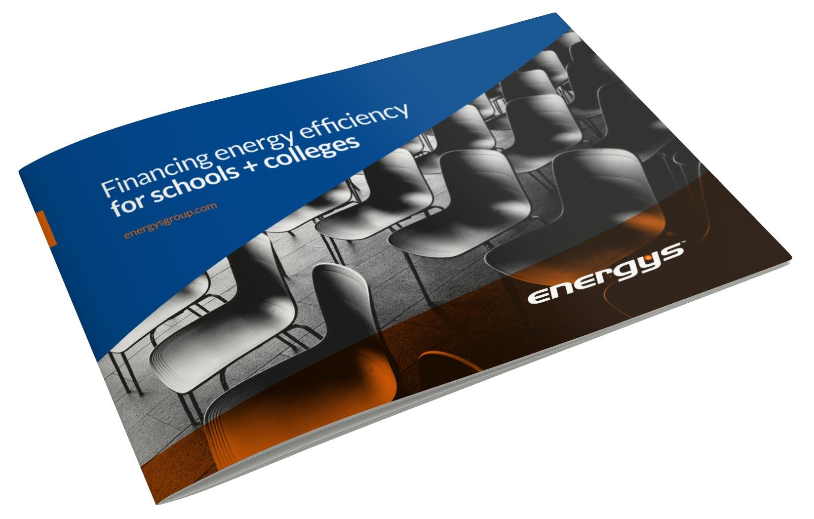 Energys Schools Brochure Mockup